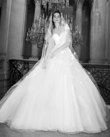 elie saab wedding dress spring 2019 ball gown illusion