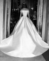 elie saab wedding dress spring 2019 off the shoulder satin back