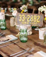 Repurposed Wedding Decor