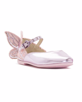 flower girl shoes butterfly