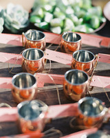 Shot Glass Escort Cards