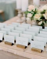 lauren alex wedding escort cards