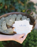 laurie michael wedding jello cubes