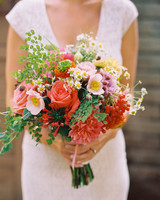 Varied Wedding Bouquet