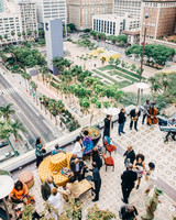 outdoor rooftop patio event space