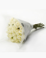 Martha Stewart BloomsyBox White Roses