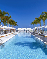 south beach hotel pool lounge