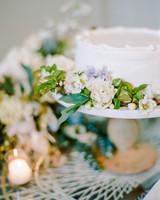 michelle robert wedding cake