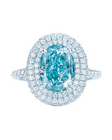 Tiffany & Co. Oval Engagement Ring