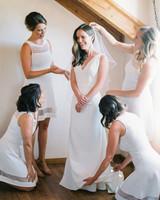 paige matt wedding bride getting ready