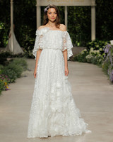 pronovias wedding dress spring 2019 lace off the shoulder