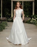 pronovias wedding dress spring 2019 bateau cap sleeve