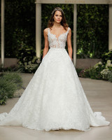 pronovias wedding dress spring 2019 a-line embroidered