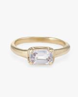 Kathryn Bentley Sapphire Step Cut Ring