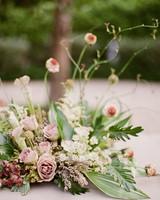 summer wedding centerpieces floral pink nautical