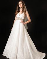 temperley belted spaghetti strap v-neck a-line wedding dress spring 2020