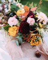 thomas jared wedding centerpiece flowers