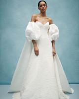 anne barge a-line cape wedding dress spring 2020