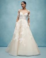 anne barge long sleeve a-line wedding dress spring 2020
