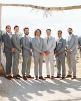 ashley basil wedding groomsmen and groom