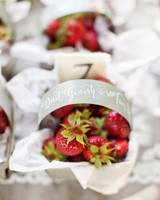 berry wedding ideas aaron delesie strawberries