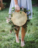 tambourine bouquet