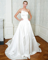Cristina Ottaviano wedding dress spring 2019 asymmetrical ballgown