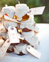 honey pot edible wedding favor