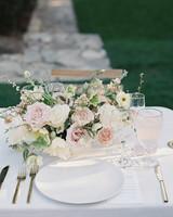 emme daji wedding floral centerpiece
