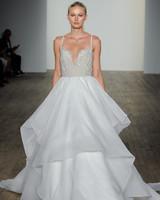 haley paige fall 2019 spaghetti strap ball gown wedding dress