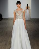 haley paige fall 2019 cap sleeve a-line wedding dress
