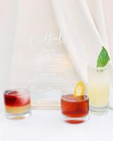 jena donny wedding cocktails drinks and menu