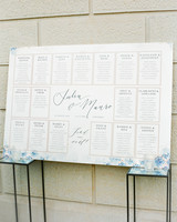 julia mauro wedding seating chart