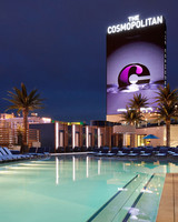 hotel pool lounge