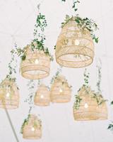 lauren alex wedding hanging decorations