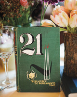 book wedding table number