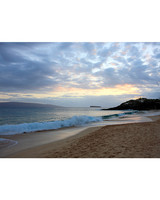 makena beach state park sunset