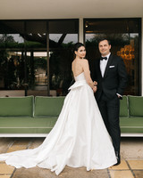 mia patrick wedding couple the black tux