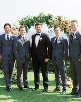 mykaela and brendon wedding groom with groomsmen