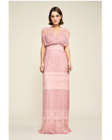 pink mob dresses tadashi shoji