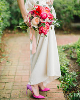 pink wedding ideas sarah mckenzie