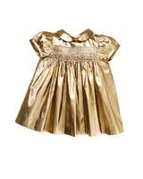 precieuse gold girls dress