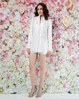 randi rahm wedding dress spring 2019 shorts embroidered jacket separates