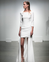 Plain Wedding Dresses with Sleeves