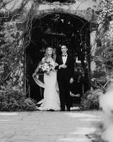 sarah daniel wedding bride and father processional
