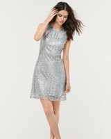 Wtoo Style 452 Short Bridesmaid Dress with Metallic Details
