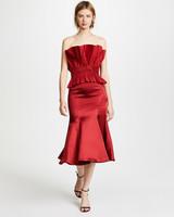 Jonathan Simkhai Structured Trumpet Dress