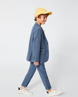 Summer Ring Bearer Attire, Blue Zara Suit