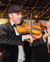 wedding reception violin player