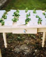 thomas jared wedding escort cards